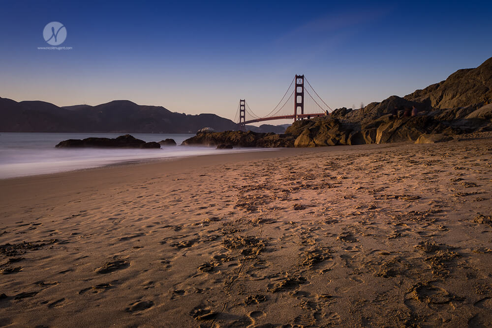 San Francisco, Golden Gate Bridge, Ocean, Muir Woods, Autumn, Beach