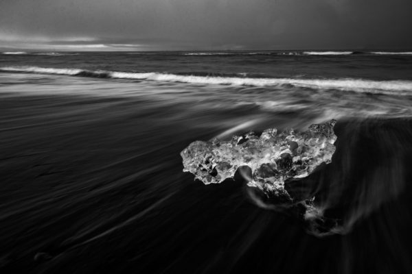 Iceland, Black Sand Beach, Ice Lagoon, Landscape, Framed Art, Fine Art Prints, Home, Office, Professional Photography