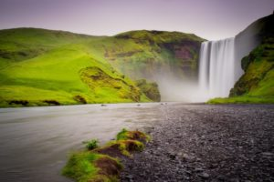 Iceland, Scogafoss, Waterfall, Landscape, Framed Art, Fine Art Prints, Home, Office, Professional Photography