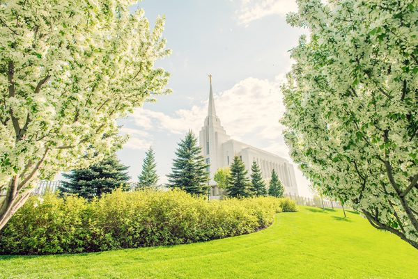 Rexburg, Idaho, Temple, LDS, Rexburg Idaho Temple in Spring, Framed Art, Fine Art Prints, Home, Office, Professional Photography